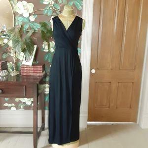 CALVIN KLEIN Faux Wrap Maxi Dress Size 4